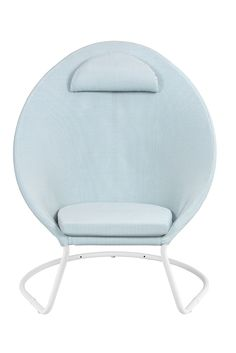 Celadon, Cocoon, Le Tube, Lounge, Terracotta, Spirit, Chair, Blue, Furniture