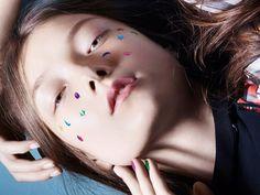 Publication: Vogue China April 2015 Model: Yumi Lambert Photographer: Liz Collins Fashion Editor: Naomi Miller Hair: Chi Wong Make-up: Lloyd Simmonds