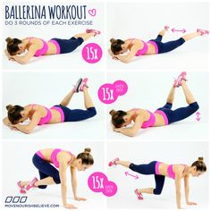 The Long & Lean Ballerina Workout by Christine Bullock