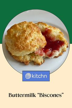 """Buttermilk """"Biscones"""" Are the Best of Both Worlds: Craggy and Crisp with Tender, Flaky Centers What's For Breakfast, Breakfast Buffet, Buttermilk Recipes, Buttermilk Biscuits, Brunch Recipes, Breakfast Recipes, Baking Scones, Best Cinnamon Rolls, Baking Recipes"""