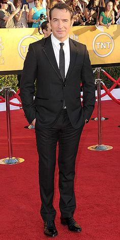"Jean Dujardin of ""The Artist"". I imagine him to be France's Jon Hamm."