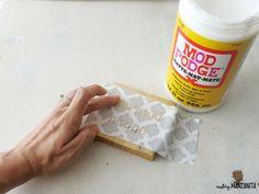 How to Prevent Stencil Bleeding: Sign Making Hack - Making Manzanita