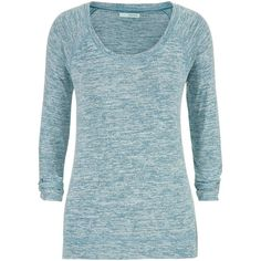 maurices Ultra Soft Pullover ($29) ❤ liked on Polyvore featuring tops, dusty peacock, sweater pullover, womens plus tops, long sleeve scoop neck top, long sleeve tops and pullover tops