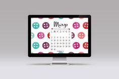 #calendar #march #freebie