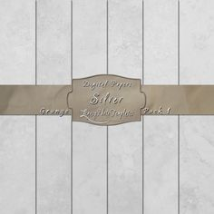 Silver gray digital paper pack created using a grunge effect.  $3.95  #digital paper, #grunge, #texture, #download, #gray, #scrapbooking, #background, #card making