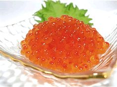 salmon roe いくら Salmon Roe, Food Porn, Junk Food, Japanese Food, Caviar, Delicious Food, Sushi, Food And Drink, Sweets