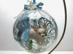 Chihuahua Ornament by NANJO DOGZ | Polymer Clay Planet