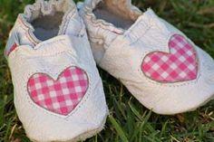 Love Pink Fabric Heart