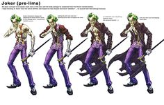 Joker ArkhamCity 1stpass by Chuckdee on DeviantArt