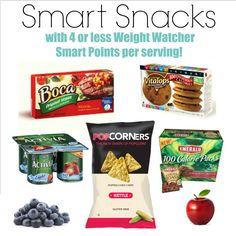 """I am excited to share a list I have been putting together these last couple of days! A list of smart snacks with Weight Watcher Smart Points! If you are asking yourself, """"What snacks can I eat that are low in Weight Watcher Smart Points?"""" we haveover 60quicksnacks that are 4 or less Weight Watcher...Read More »"""