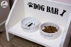 Handmade Dog Bowl Stand ❤ Подставка для мисок МК
