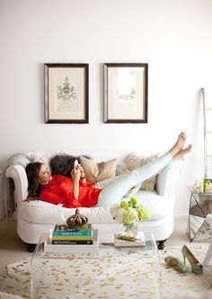The Stylish at Home. Catherine Sheppard of The Life Styled in her Los Angeles Living Room.