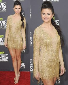 Selena Gomez at the 2013 MTV Movie Awards held at Sony Pictures Studios on April 14, 2013