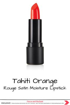 Need a lipstick that's bold AND nourishing? The Rouge Satin Moisture Lipstick features a moisturizing color-rich formula with a soft, satiny finish. Try it in Tahiti Orange! Brought to you by Avon x The Face Shop. Click to see all 6 K Beauty cosmetics products Avon is adding to their lineup. ~ EXCLUSIVE Avon coupon code when you visit the blog ~ Save money with my exclusive discount - only for new subscribers! ~ #koreanmakeup #kbeauty #orangelipstick #orangeredlipstick #rougesatin… Powder Matte Lipstick, Matte Lipstick Brands, Orange Lipstick, Lipstick Shades, Best Lipsticks, Pink Lipsticks, Green Lips, The Rouge, Lip Primer