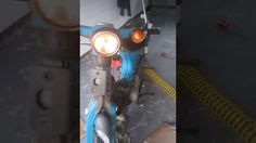 c70 c90 Honda cub Lives again after 25 years in storage