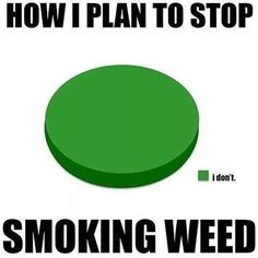 How I Plan To Stop Smoking Weed From: RedEyesOnline.net