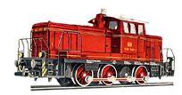Märklin 3065 Diesel Rangierlokomotive V60 der DB Epoche III