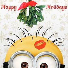 HAPPY HOLIDAYS MINION