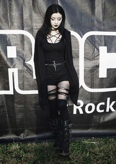 Goth girl beauty                                                                                                                                                     More #womensGothicboots