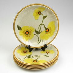 Vintage 70s Mikasa Natures Song Sunkissed Daisies Dinner plates set 4 on Etsy, $28.00
