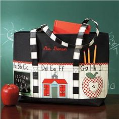 Teacher's Canvas Tote