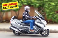 We take Suzuki's maxi-scooter out for a quick spin to see how well it fares on Indian roads.