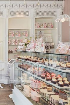 Best Cake Bakeries London - Great British Bake Off - TatlerYou can find Bakery shops and more on our website.Best Cake Bakeries London - Great British Bake Off - Tatler Cake Shop Design, Coffee Shop Design, Bakery Design, Cafe Bar, Cafe Shop, Bakery Decor, Decoration Patisserie, Bakery Ideas, Bakery Store