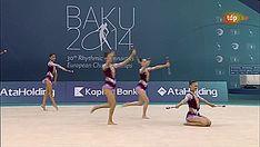Team Azerbaijan, 10 Clubs, European Championships Baku 2014