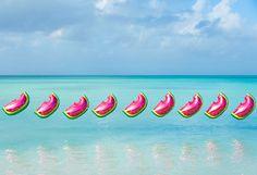 Watermelon Balloons photograph by Gray Malin