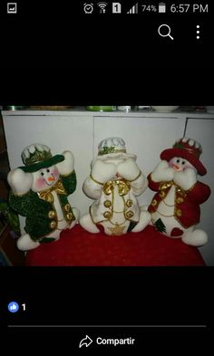 Christmas Crafts, Christmas Ornaments, Snowmen, Felt Crafts, Couture, Holiday Decor, Molde, Accent Pillows, Wood