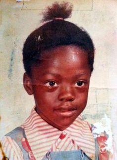 Viola Davis childhood photo