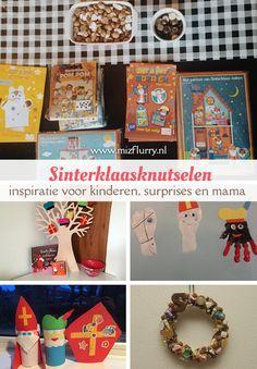 Een overzicht met links naar Sinterklaasknutselideeën. Bijvoorbeeld om te knutselen met kleine(re) kinderen, ideeën voor gave surprises, knutselinspiratie voor mama en een link naar een Pinterestbord. Of ga je voor een kant-en-klaar-knutselpakket?