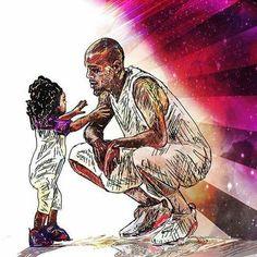 Daughter an father Chris Brown Drawing, Chris Brown Art, Breezy Chris Brown, Chris Brown Outfits, Chris Brown Wallpaper, Rap History, Chris Brown And Royalty, Chirs Brown, Michael B Jordan