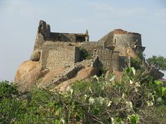 Penukonda Fort, which served as the capital of the Vijayanagar empire after Tallikota.