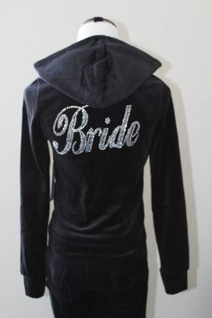 Honeymoon track suit, Bridal wear, Bridal vacation Wear, Soon to be Mrs gifts, Fiance gift, Custom track suit by www.ArenLace.com   $34.99