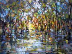 """Rick Reinert, """"Wetland Mosaic"""""""