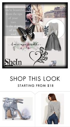 """""""Beauty Is Love"""" by classicfem ❤ liked on Polyvore featuring Luana, Sheinside and shein"""