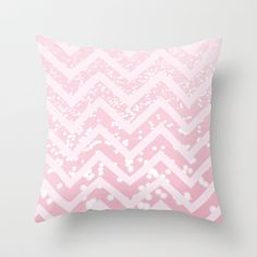 Glitter+Chevron+Throw+Pillow+by+NeoQlassical+-+$20.00