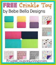 Bebe Bella Designs FREE Crinkle Toy #free #hotdeals #free #baby