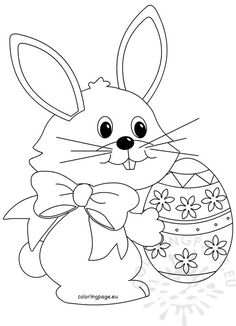 Easter - Page 2 of 10 - Coloring Page Easter Coloring Pages Printable, Easter Egg Coloring Pages, Easter Printables, Easter Egg Template, Easter Drawings, Easter Pictures, Drawing Templates, Easter Crafts, Easter Bunny