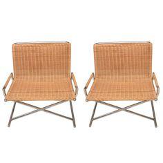 Pair Of Ward Bennett Chairs
