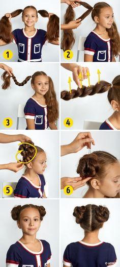 4 прически, с которыми ваша принцесса будет самой красивой в школе