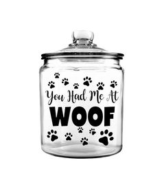 Puppy Gifts, Dog Gifts, Treat Quotes, Gallon Glass Jars, Dog Treat Jar, Card Box Wedding, Pet Treats, Custom Cookies, Best Gifts