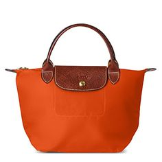 Longchamp Bag- Have this exact one and love it. Orange is my favorite color! <3