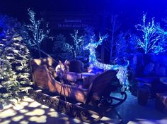 Large Traditional Rustic Sleigh | Christmas Market Party Theme | Christmas Market Party Theming Hire | Event Prop Hire
