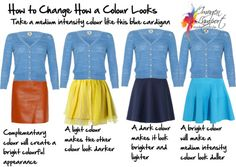 Colour, Hips and Bottom, outfits, Reader questions, style tipsMarch 27, 2014 Using Simultaneous Contrast to Change the Way a Colour Looks By Imogen