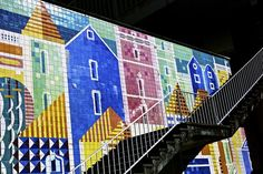 Celebrating the Distinctive Tiles of Lisbon - CityLab  A new short film looks at the vibrant and eclectic culture of the Portuguese capital and its trademark azulejos.