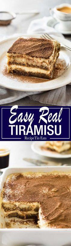 Me encanta esta receta, es una receta tiramisú perfecta. Una receta del cocinero también!
