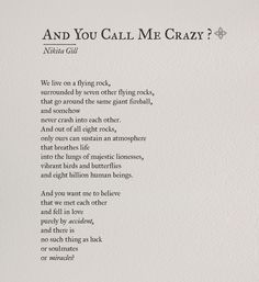 Yes! This word is very familiar to me... People call me crazy including you... But it is for you... I want to remain crazy for you until my dying day and this intensity/frequency of LOVE keeps on increasing.