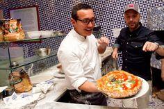 E Joe Bastianich torna a scuola di pizza da Gino Sorbillo
